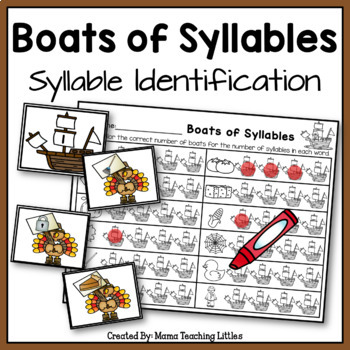 Boat of Syllables - Syllable Identification