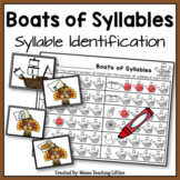 Boats of Syllables - Syllable Identification