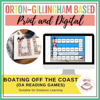 Boating off the Coast (an oa Board Game!) Orton-Gillingham