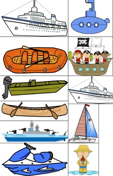 Boats-An Interactive Preschool Rhyming Book