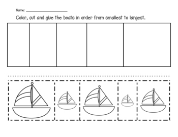 Boats - From Smallest to Largest