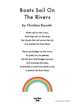 Boats Sail On The River (The Rainbow) - A poem by Christina Rossetti