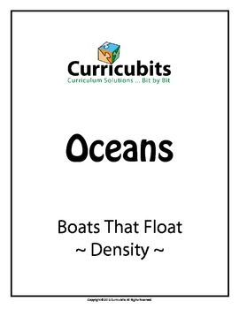 Boats That Float - Density | Theme: Oceans | Scripted Afterschool Activity