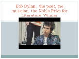 Bob DYLAN PowerPoint on the Poet, the Musician, & Noble Pr