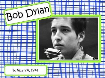 Bob Dylan: Musician in the Spotlight