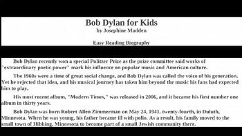Bob Dylan PowerPoint