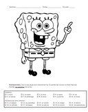Bob Esponja Partes del Cuerpo / SpongeBob Spanish Body Parts