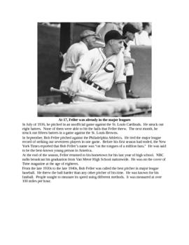 Bob Feller - A Short Biography for Kids