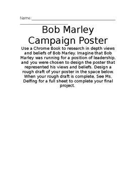 Bob Marley Campaign Poster