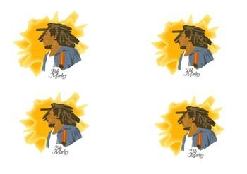 Bob Marley Comic Strip and Storyboard