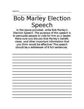 how to write a presidential speech