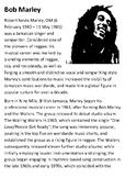 Bob Marley Handout