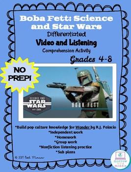 Boba Fett/WONDER Background NO PREP Video Comprehension