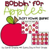 Bobbin' for Apples {short vowel practice!}