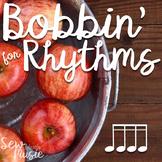 Bobbin' for Rhythms: Sixteenth Notes