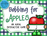 Bobbing for Apples Aural Interactive Game {Half Note}