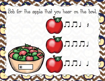 Bobbing for Apples Aural Interactive Game {Rest}