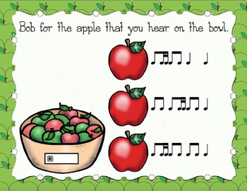 Bobbing for Apples Aural Interactive Game {Ti-Tika}