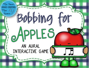 Bobbing for Apples Aural Interactive Game {Ti-Tika}
