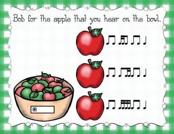 Bobbing for Apples Aural Interactive Game {Tika-Ti}