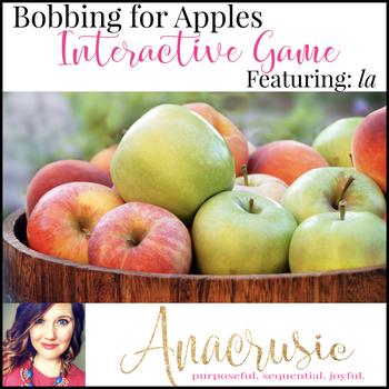 Bobbing for Apples - Interactive la practice game
