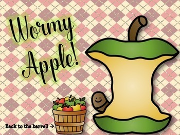 Bobbing for Apples - Interactive re Practice Game