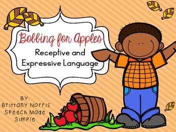 Bobbing for Apples Receptive and Expressive Language