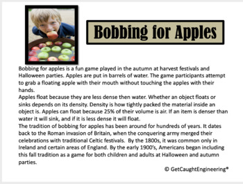 STEM and Bobbing for Apples