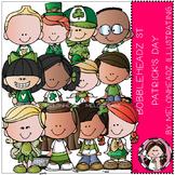 Melonheadz: St. Patrick's Day clip art - Bobbleheadz - COMBO PACK