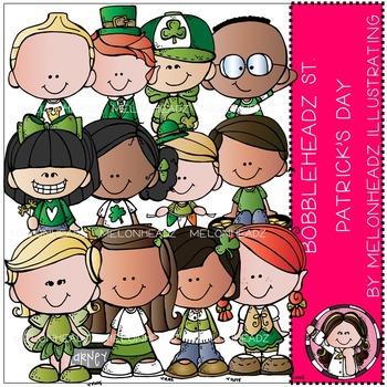 Melonheadz: St. Patrick's Day clip art - Bobbleheadz