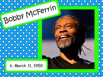 Bobby McFerrin: Musician in the Spotlight