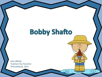"Bobby Shafto: A Song for teaching ""la"""