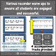 Soprano Recorder Song ~ Bobby Shaftoe Interactive Visuals {Notes ACD}