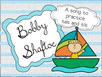 Bobby Shaftoe - Practice with ta's and ti's