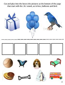 Bobby's Birthday, Starring the Letter B:  Balanced Literacy & Math Unit