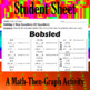 Bobsled - Solving 2-Step Equations - A Math-Then-Graph Activity