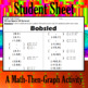 Bobsled - A Math-Then-Graph Activity - Solve 30 Systems