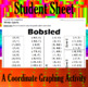 Bobsled - A Coordinate Graphing Activity