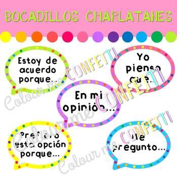 Bocadillos charlatanes - Colour me Confetti
