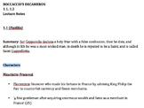 Boccaccio's Decameron, Stories 1.1 & 1.2 Lecture Notes