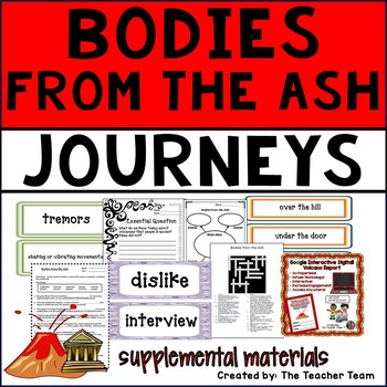 Bodies From The Ash Journeys 6th Grade Unit 4 Lesson 20 Activities & Printables