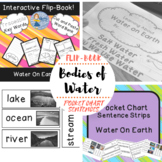 Bodies Of Water ( Water On Earth) Bundle: Flip-Book and Po