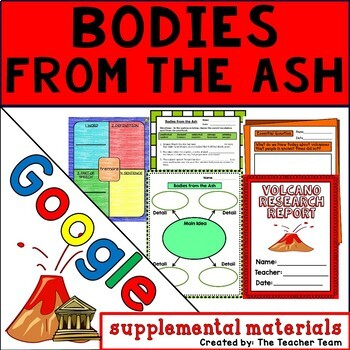 Bodies from the Ash Journeys 6th Grade Unit 4 Google Drive Resource