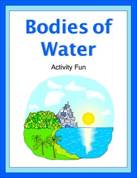 Bodies of Water Activity Fun