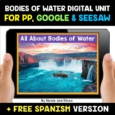 Bodies of Water Digital Activities for Google and Seesaw -