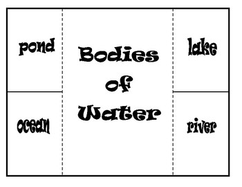 Bodies of Water (Foldable)