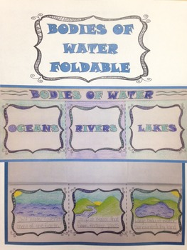 Bodies of Water - Foldable