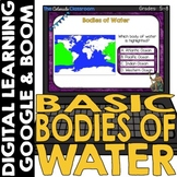 Bodies of Water Map and Geography Set 1 | Google | BOOM