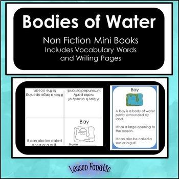 Bodies of Water Non Fiction Mini Books