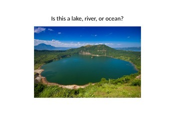 Bodies of Water PowerPoint Presentation